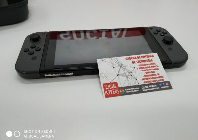 arreglar pantalla nintendo switch