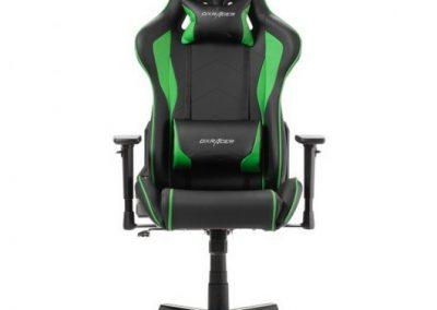DXRacer F-Series Silla Gaming Negro/Verde