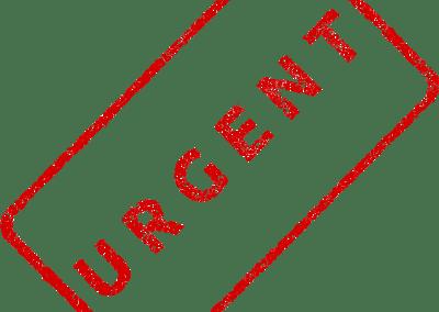 Reparación urgente ordenador