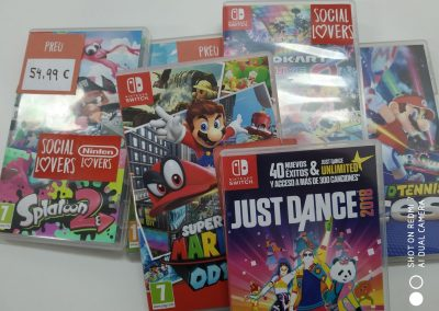 Alquiler de Nintendo Switch y videojuegos
