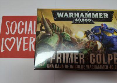 Warhammer Primer Golpe