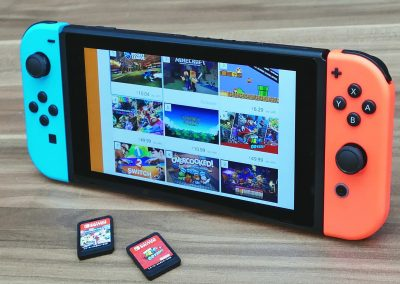 Reparar nintendo switch