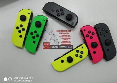 Mandos JoyCon Nintendo