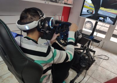 alquiler simulador coches vr