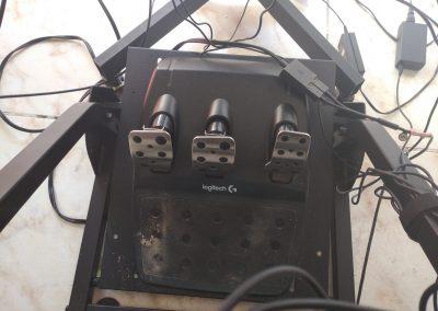 Alquilar simulador con pedales