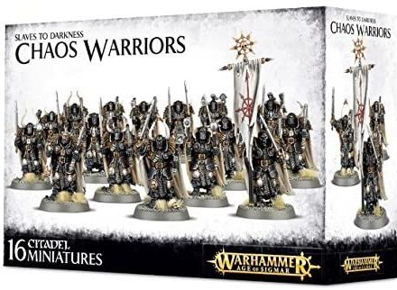 Chaos Warriors - Tablero de Mesa y miniaturas