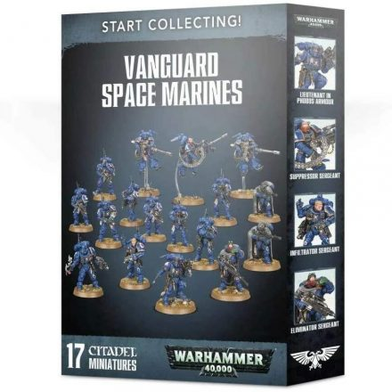 Vanguard Space Marines 40000