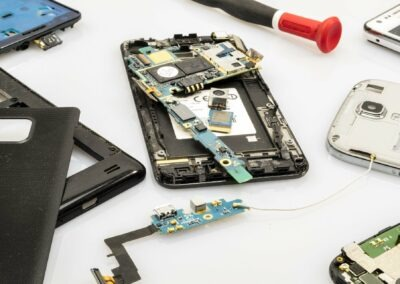 Tienda de reparación de teléfonos móviles